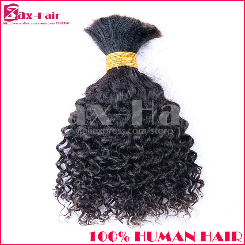 High Quality Bulk Hair Extensions Kinky Bulk Hair For Braiding Brazilian Human Hair In Stock Fashion Grade 7A Sale Natural Color