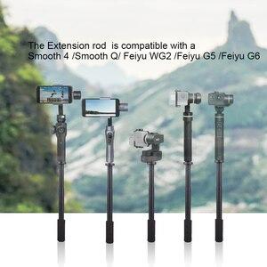 Image 2 - Pergear rallonge bâton 27.5cm ~ 42cm pour DJI Osmo Mobile 2 Zhiyun lisse 4 lisse Q Feiyutech G6 G5 V2 WG2 cardans avec 1/4 vis
