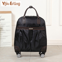 цены Oxford Spinning Suitcase,Light Luggage,Travel Rolling Luggage,Universal Wheel Trunk,Fashion Trolley Case,20