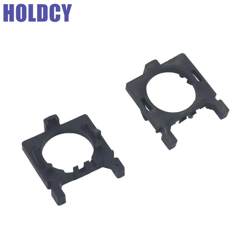 HoldCY H7 LED Headlight Bulb Adapters Holder for Ford Focus Low Beam H7 LED Clip Retainer Base Sockets Car Headlamp Kit Adaptor