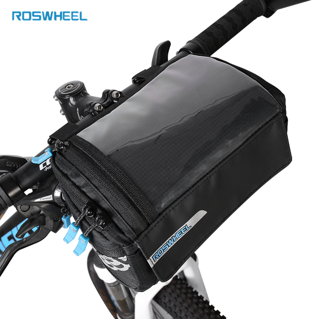 Roswheel New Bike Frame Bag Pvc Map Pocket Top Tube Bag