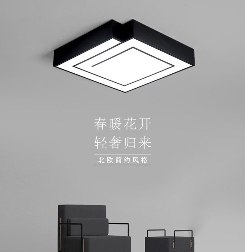 Bwart Moderne Led-deckenleuchte Runde Einfache Dekoration Leuchten Studie Esszimmer Balkon Schlafzimmer Wohnzimmer Deckenleuchte Foyer QualitäT Zuerst Licht & Beleuchtung