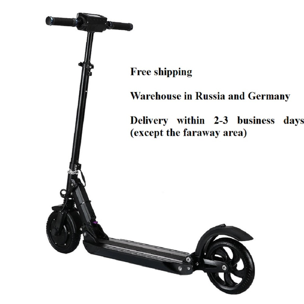 Clearance SUPERTEFF EW4 electric scooter LCD display 8 inch 350W electric bike smart two-wheel skateboard scooter for adults folding 4