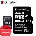 Kingston Карт Памяти Micro SD 32 ГБ Класс 10 SDHC Карта Micro Sd с Адаптером 32 ГБ Microsd Картао де Memoria Tarjeta SD TF Карты