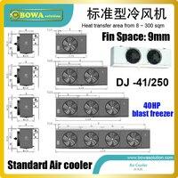 250sqm низкая температура воздуха охладитель соответствует 6GE 40Y, HG6/1410 4 S, d6DT 300X и H4000CC конденсаторного блока для заморозки номера
