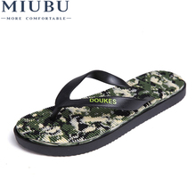 MIUBU Summer Men's Flip Flops Slip-on Beach Flip Flops Male Breathable Slippers Men Summer Platform Sandals Mesh Light Shoes