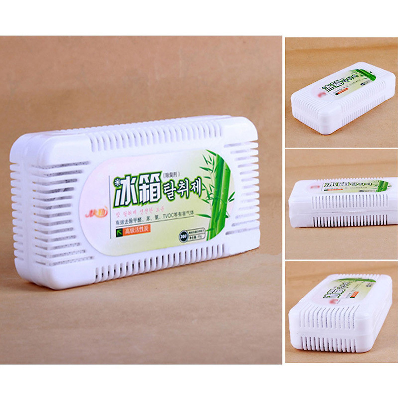 Deodorant Box Refrigerator Smell Remover Air Purifier Activated Bamboo Charcoal Refrigerator Deodorant Box Odors Smell Remover