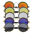 Hot Women Men Unisex Fashion Vintage Retro Round Mirror Lens Sunglasses  Hot
