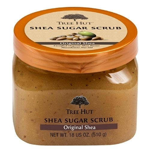 Tree Hut Shea Sugar Scrub, Original Shea, 18 Ounce (Pack of 3) talkingrain sparkling water lemon lime 16 9 ounce pack of 24