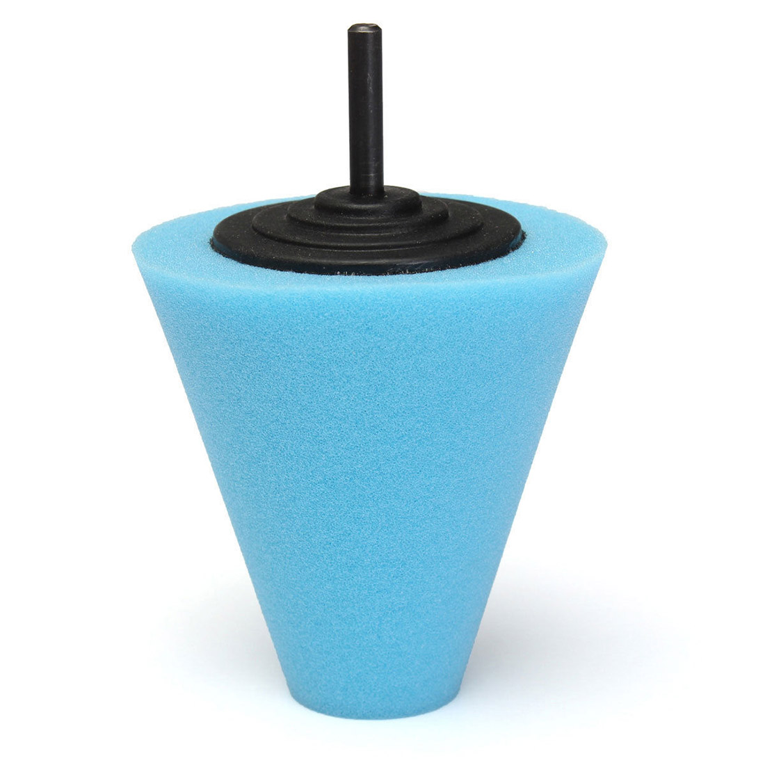 Sponge Cone Polishing Auto Buffer Pad adapter Drill Blue