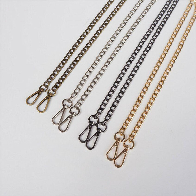 5pcs 120cm 60cm High Quality Metal Purse Chain Diy Replacement Shoulder Bags Straps For