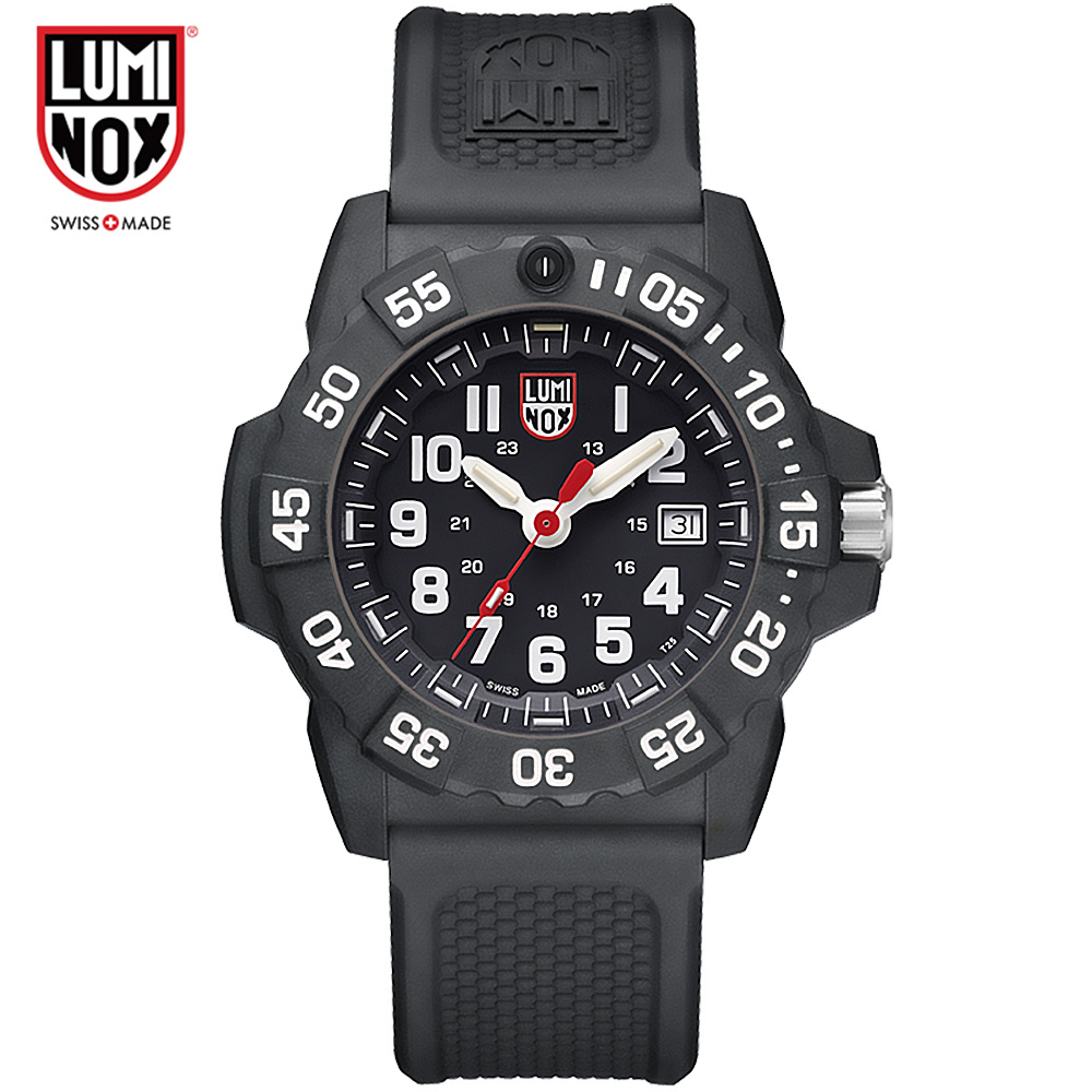 Luminox Made in Switzerland XS.3501 Land-emitting series of waterproof machinery luminox master carbon seal 3800 series xs 3803 c