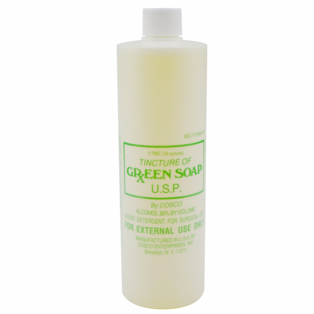16OZ Bottle Cleaning Water Skin Wash Stencil Green Soap Tattoo After Care Supplies Acces ...