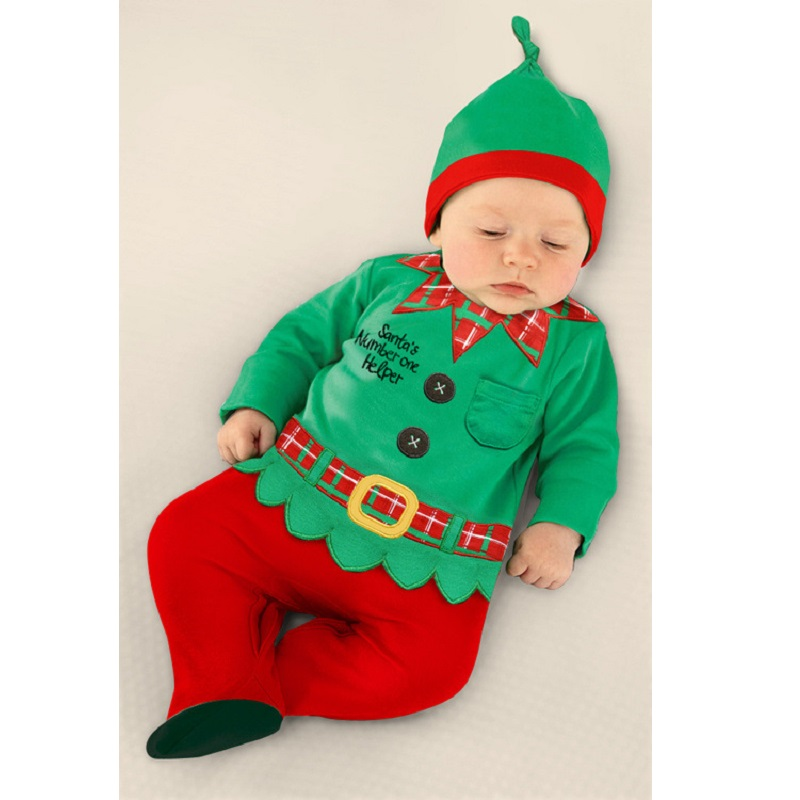 Christmas Baby Rompers Santa Costumes Baby Clothing sets Overall baby boy clothes jumpsuit roupa de bebe roupas para bebe menino baby rompers hello kitty baby boys girls clothing new born baby clothes winter jumpsuit christmas roupa de bebe recem nascido