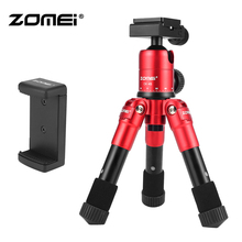 Strawberry Red CK-45 Tripod Zomei CK 45 Travel Professional Lightweight Mini Table for SLR DSLR Camera Smartphones