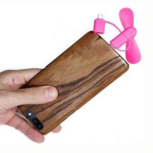 Image 5 - 50 ADET 3 in 1 Mini Taşınabilir mikro usb Tip C Hayranları Samsung HTC Huawei Için Evrensel Android Telefon, iPhone 5 5 S 6 6 s 7 8 X Artı