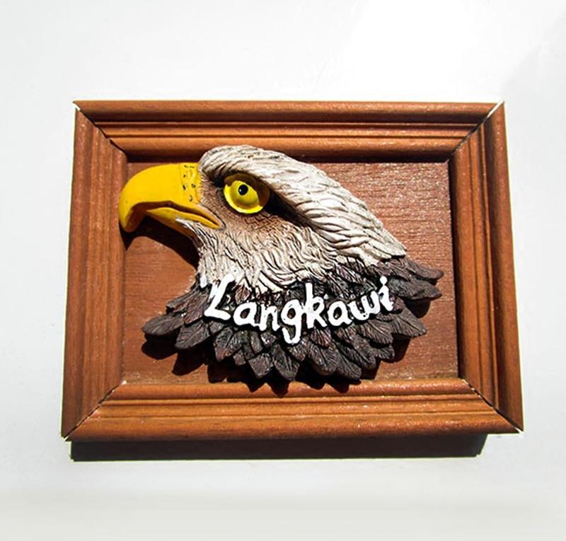 Malacca Malasia Langkawi águila madera creativa Marcos Imanes de ...