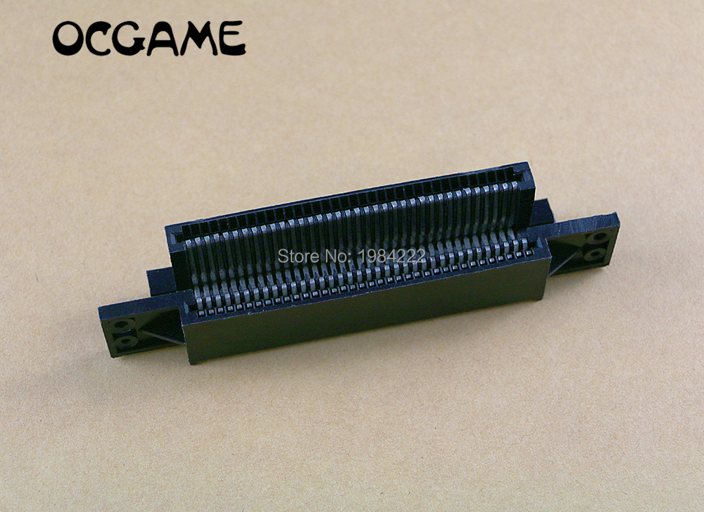 OCGAME high quality Replacement 72 Pin Game Cartridge Slot Connector 72pin connector For Nintendo NES 8 BIT Console 6pcs/lot