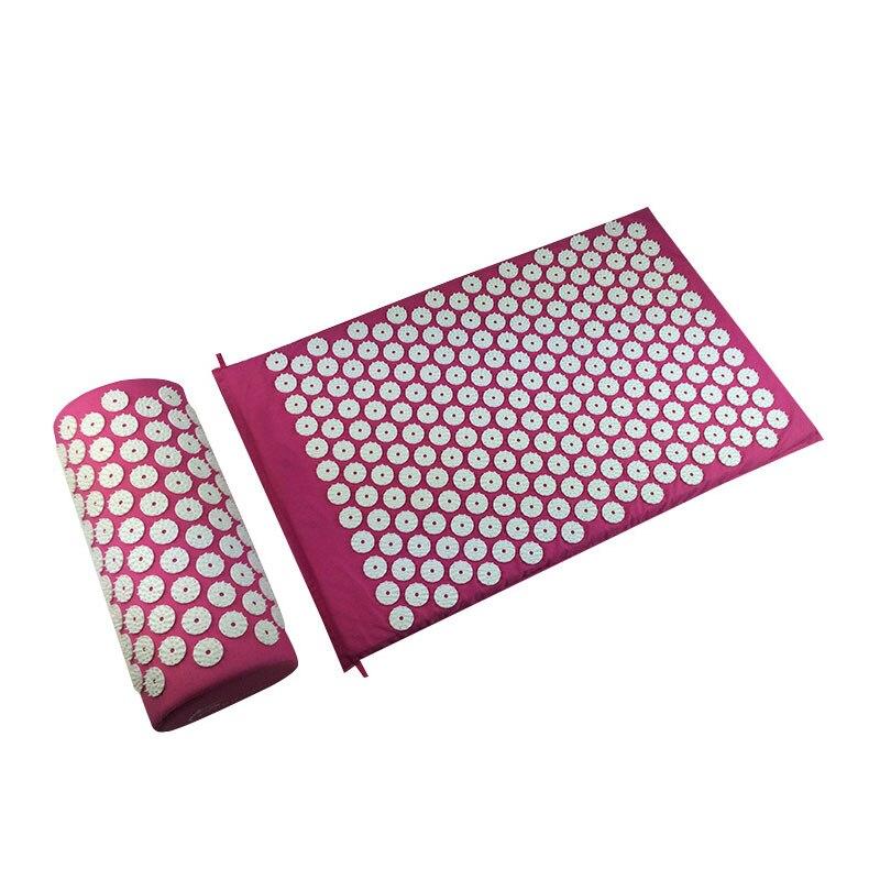 @1  Массаж головы массажная подушка для снятия давления подушки йога подушка набор акупунктуры 27 игл кр ✔