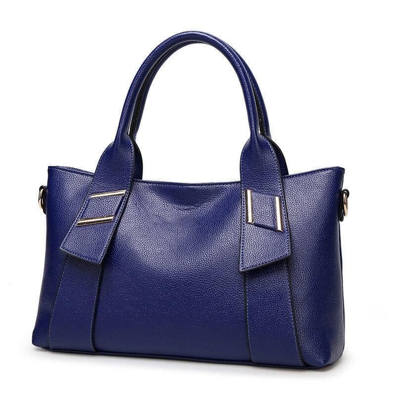 Women geniune high Leather Handbags Ladies Party Shoulder Bags female tote bag oil wax messenger bag clutch bag for girl