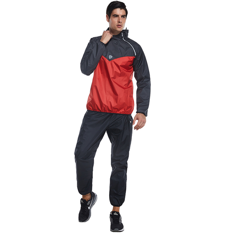 Vansydical Brand Men Fitness Sweat Suit 2pcs Gym Windbreaker Running Jacket Basketball Training Tracksuits ...