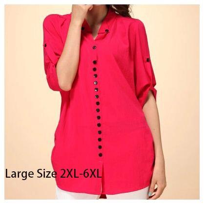 2018 Plus Size T-Shirt für Frauen Slim Loose Casual Shirt Large Size Damen Kleidung Blusen
