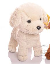 about 20cm white beige dog plush toy soft doll, high quality goods, baby toy birthday present Xmas gift c761