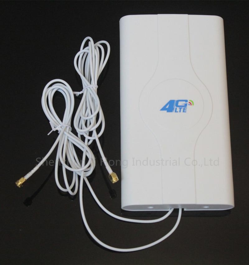 4G lte antena 49dBi CRC9 SMA TS-9 para E3372 E8372 B593 B310 4G LTE FDD módem FOUTER