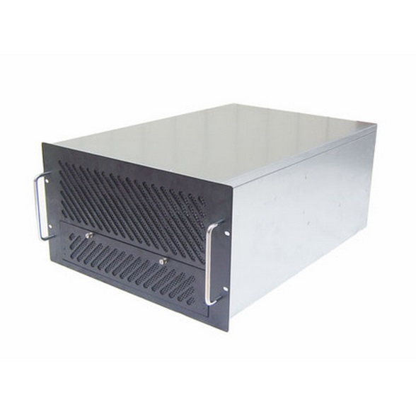 6U650 industrial server chassis Support 28 disk dual power supply Lengthened large capacity equipment chassis