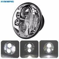 80W 7Inch Headlight For Jeep Wrangler JK CJ TJ Accessories LED Head Lamp Hi Lo 7