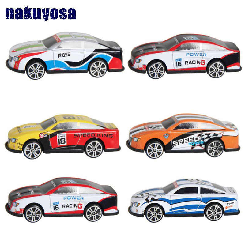 Hot toy kids toys simulation Racing car diecast Alloy car model Sliding Car Mini toy car Pocket toy birthday present gift