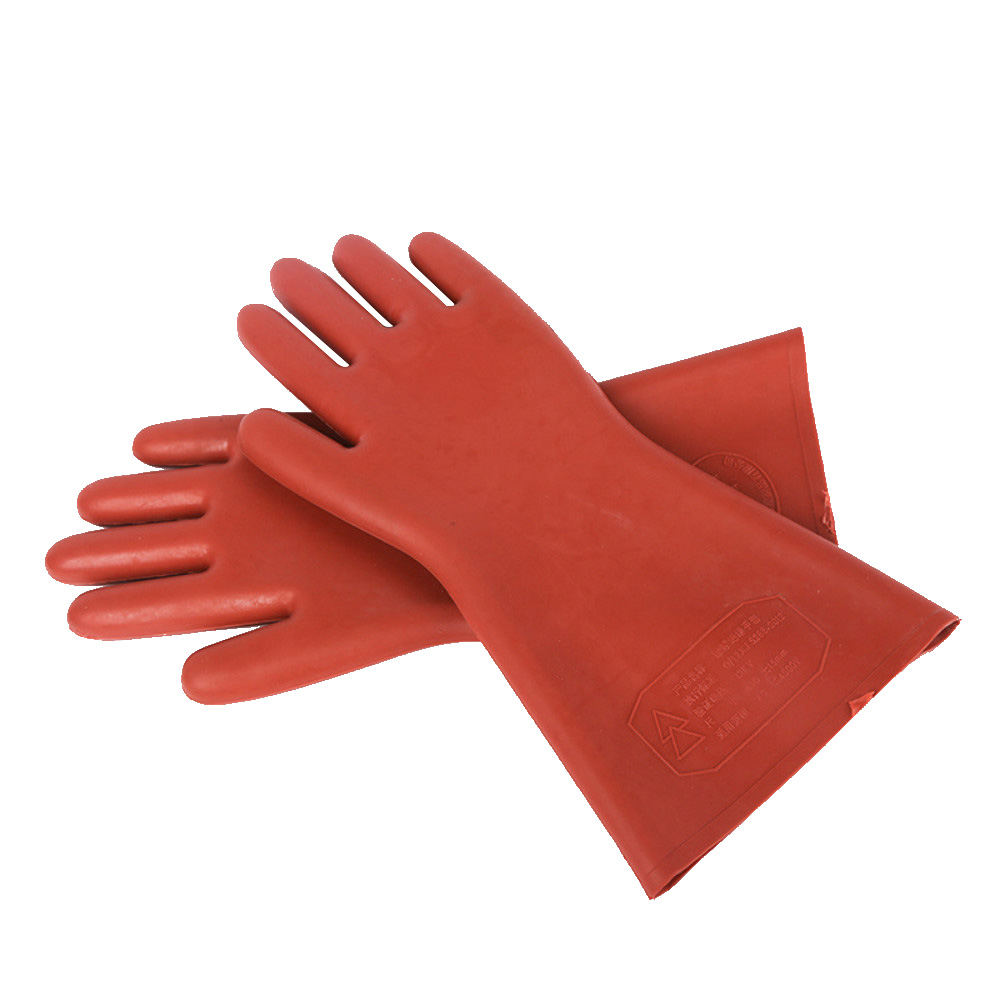 12KV insulation gloves, electric shock protection, high voltage rubber gloves, electrical work safety protection