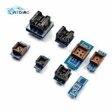 SOP8 + SOP16 + PLCC32 + PLCC44 Adapter 8 PCS Programmierer Adapter Buchse Kit für TL866CS TL866A EZP2010 RT809H Programmierer