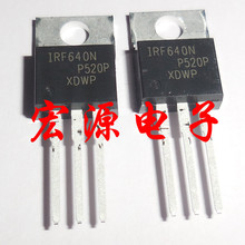 100pcs/lot IRF640NPBF IRF640N IRF640 TO-220 100pcs l7905cv l7905 7905 to 220