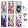 Diamond Bling Case sFor Carcasa ZTE Z981 Soft Silicone Back Cover Protective Patterned Holsters Clips Case ZTE Blade Z Max Pro