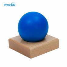 Baby Toy Montessori Geometric Stand Base and Ball Shape Early Childhood Education Kids Toys Brinquedos Juguetes