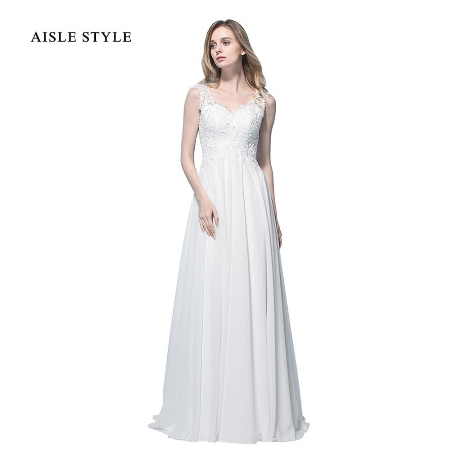 2017 Boho Wedding Dresses Vintage Lace Appliques