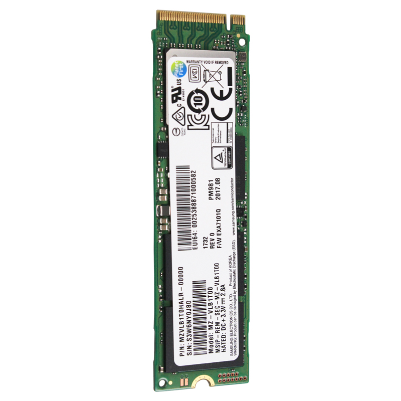 SAMSUNG SSD M.2 PM981 256GB 512GB 1TB Solid State Hard Disk M2 NVMe PCIe 3.0 x4  NVMe 1.3 Laptop Internal disco duro TLC(China)