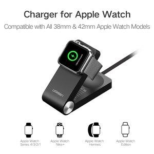 Image 5 - Беспроводное зарядное устройство Ugreen для Apple Watch, складная сертифицированная MFi зарядка, кабель 1,2 м для Apple Watch Series 4/2/1