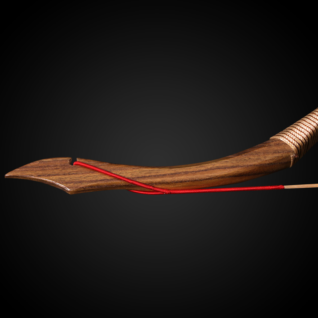 Wooden Archery Pure Handmade 30-50lbs Recurve Bow For Hunting Traditional longbow 3