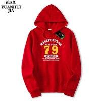 Mannelijke mode merk Casual Hoodies afdrukken handelsmerk gedrukt Nieuwe York Hooded Sweatshirt sportkleding 97 Unisex Meer Kleuren 2xl