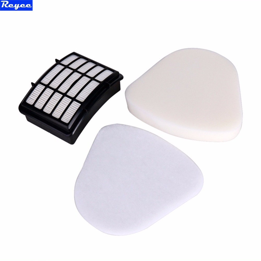 New Qualified HEPA Filter & Foam Filter Kit for Shark Navigator Lift-Away NV350 NV351 NV352 NV355 foam felt filter kit for shark rotator powered lift away xl capacity nv755 uv795 vacuum cleaner replacement