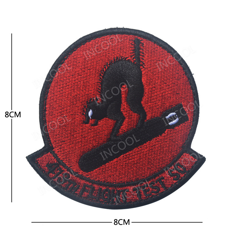 Flight Test 3D Embroidery Patch Military Morale Patch