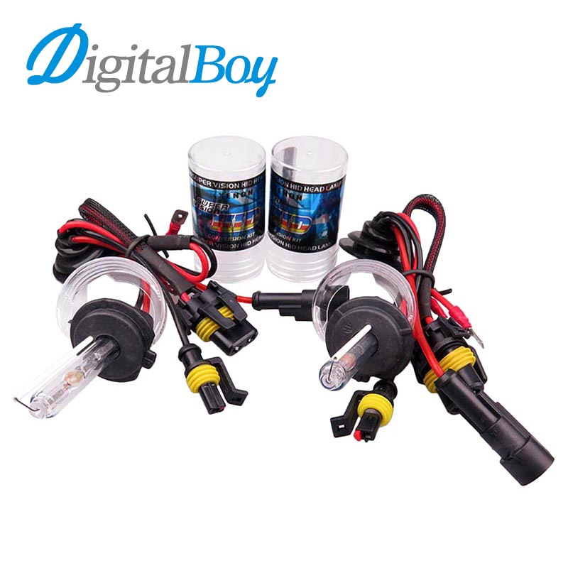 Digitalboy HID Xenon Bulb H7 35w 6000k Car Auto Headlight H7 Light 5000k 8000k Car Replacement Kit Headlamp Car Front Lighting 4x6 inch rectangle auto light led headlight replacement hid xenon h4651 h4652 h4656 h4666 h6545 h4 front led headlight with drl
