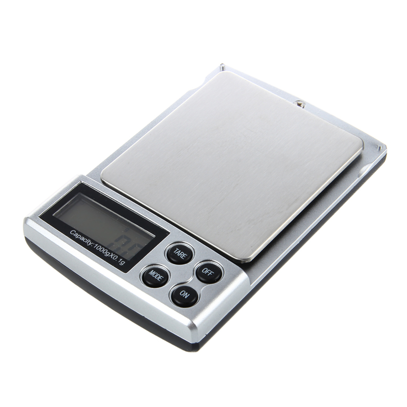 0.1-1000grams 0.1-1kg Mini Kitchen Office Jewelry Jewellery Electronic Digital Balance Weighing Pocket Scale