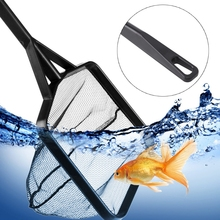 Long Handle Aquarium Fish Tank Fishing Net Square Shrimp Landing Nets