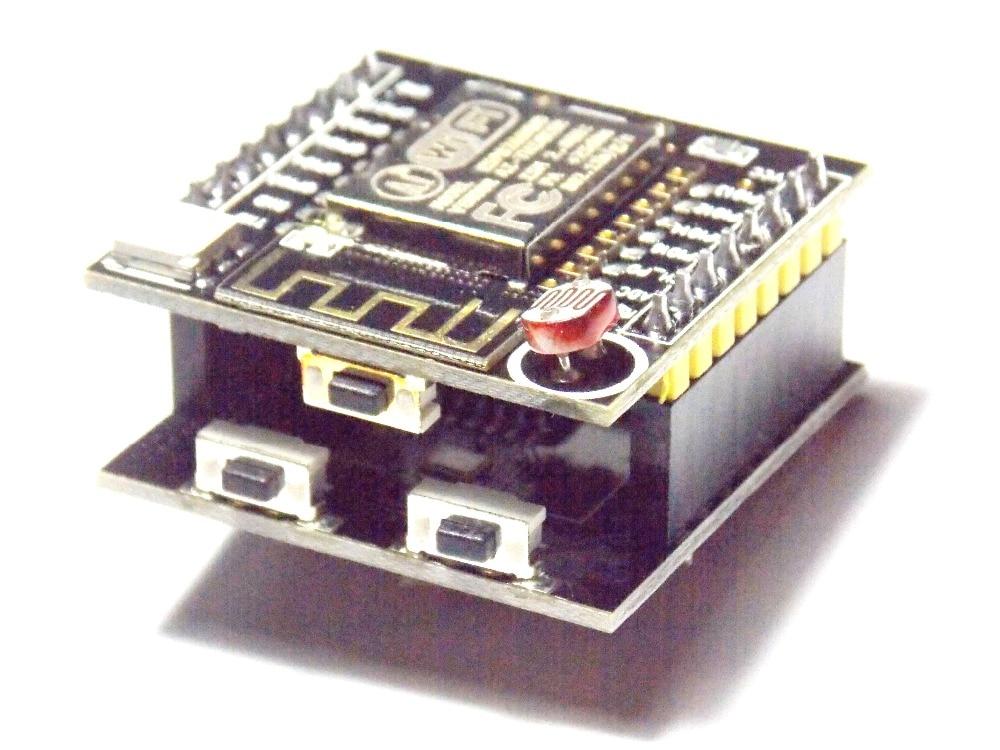 1PCS ESP8266 serial WIFI Witty cloud Development Board ESP-12F module MINI nodemcu