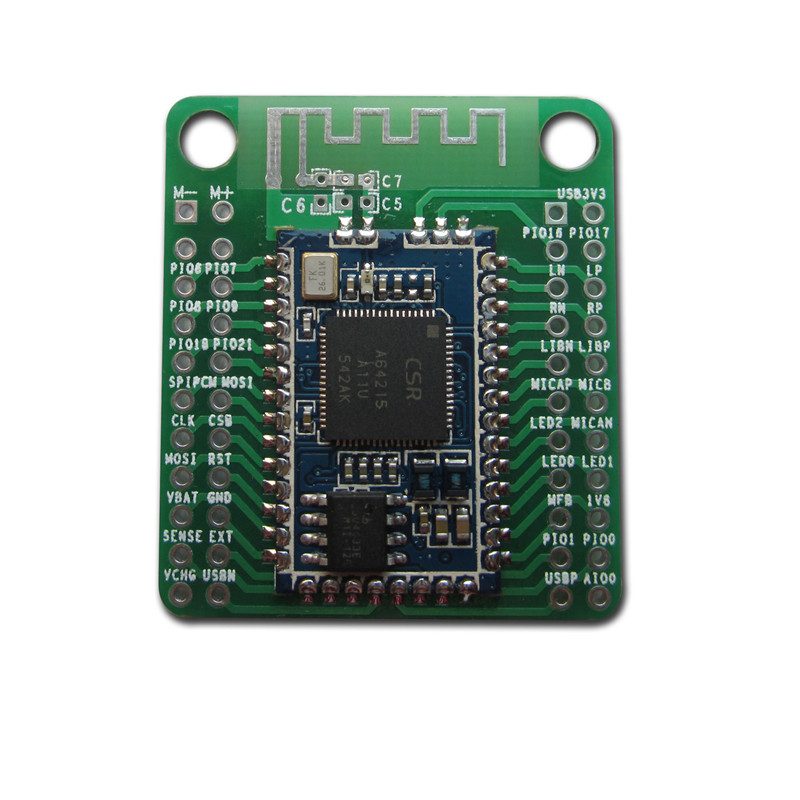 1 PC CSRA64215 4.0 4.2 Bluetooth Audio Module APTX-LL TWS I2S Output for amplifier Low power consumption