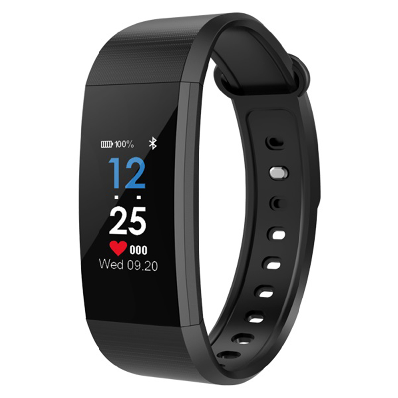 Bluetooth Bracelet À Puce ip68 Étanche Fitness Tracker Activité Bande De Moniteur D'alarme Horloge Vibrations Bracelet IOS Android téléphone