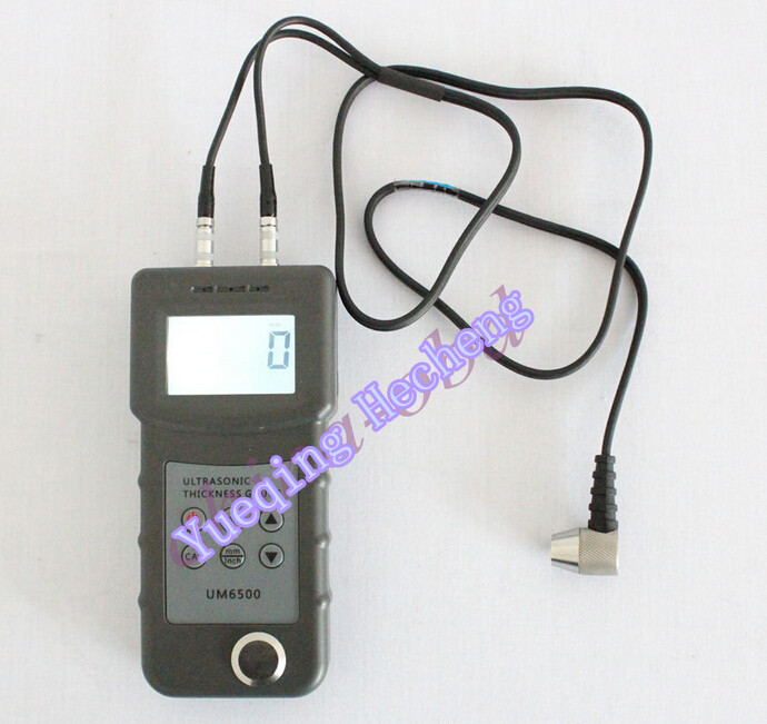 New Digital UM6500 Ultrasonic Thickness Gauge Tester Meter 1.0-245mm/0.05-8inch exploit high precision 0 01mm profession digital lcd display thickness gauge meter paper leather fabric thickness tester
